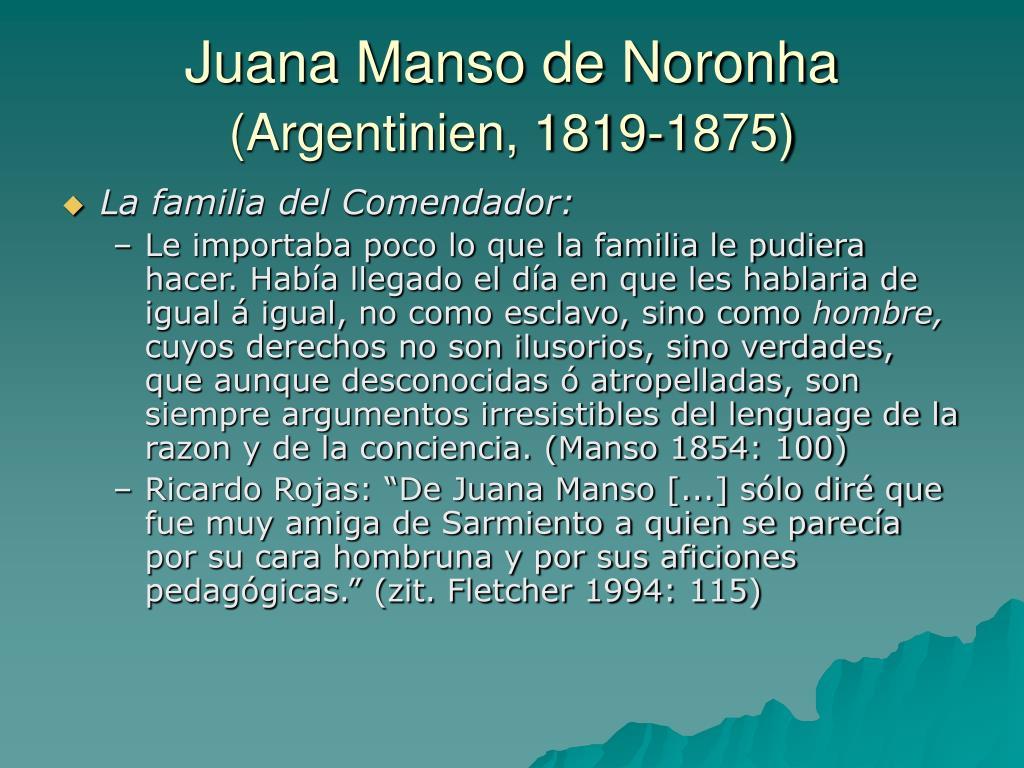 Juana Manso de Noronha