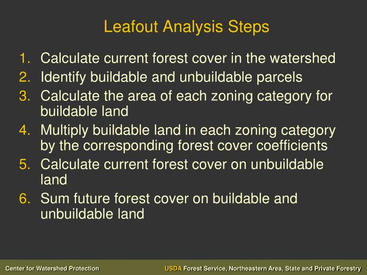 Leafout Analysis Steps