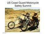 us coast guard motorcycle safety summit