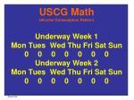 uscg math alcohol consumption pattern