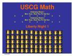 uscg math