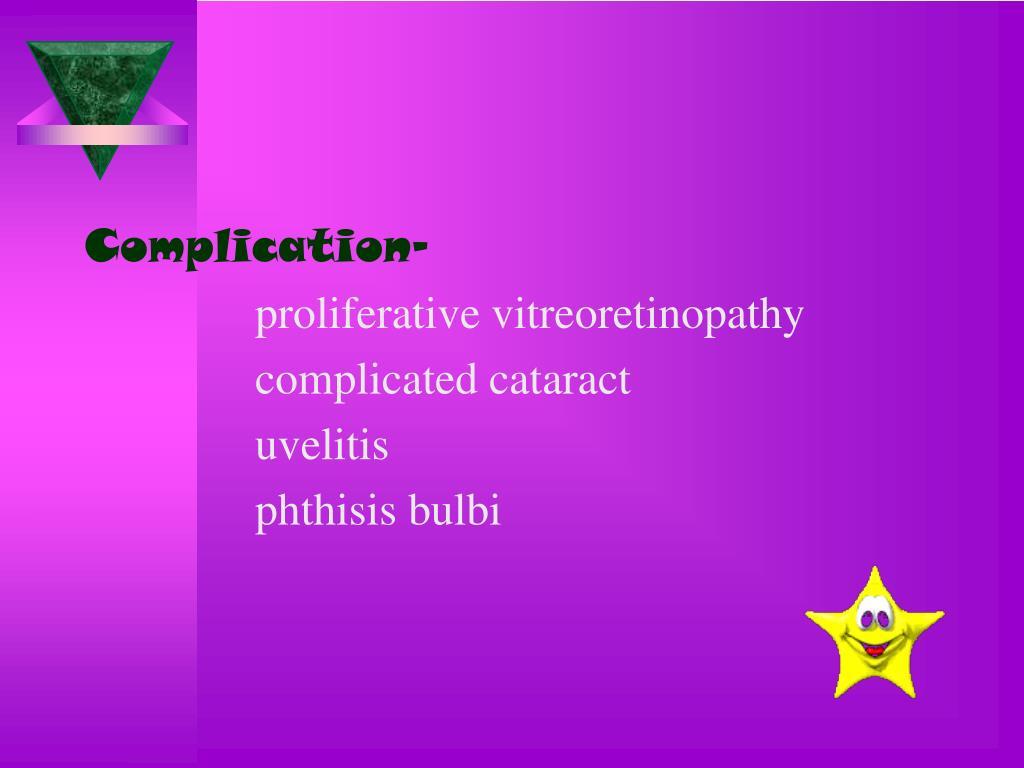 Complication-