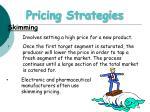 pricing strategies48