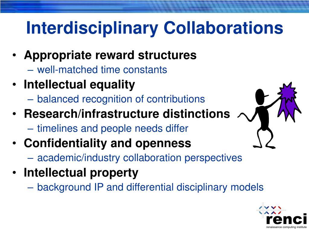 Interdisciplinary Collaborations