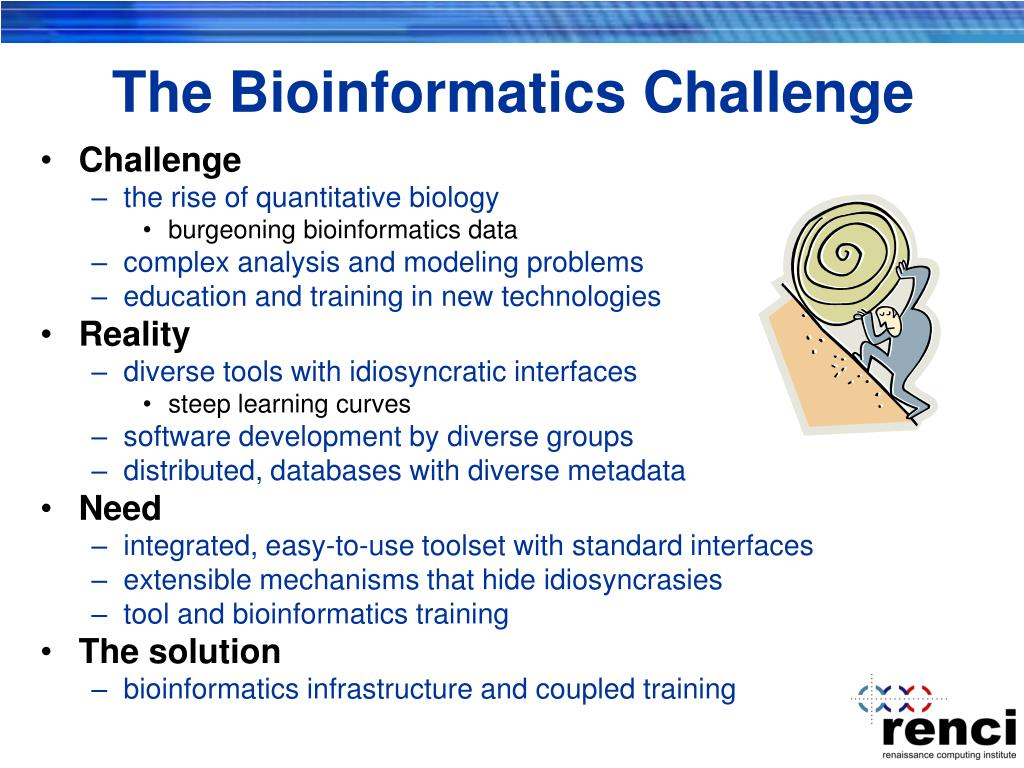 The Bioinformatics Challenge