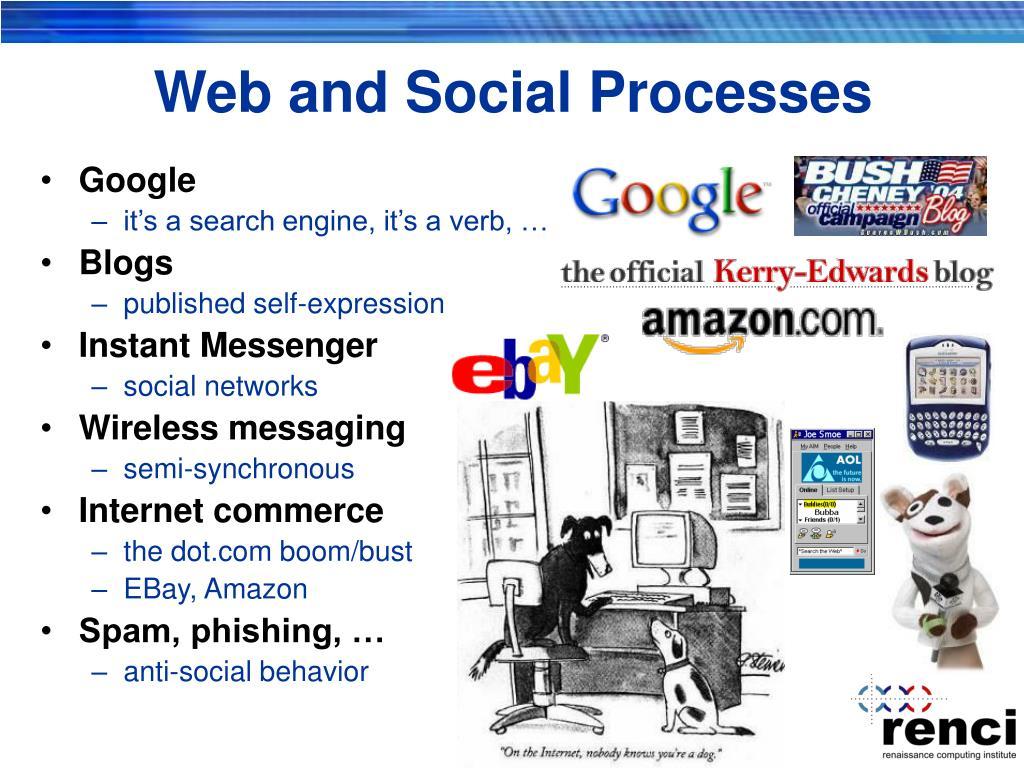 Web and Social Processes