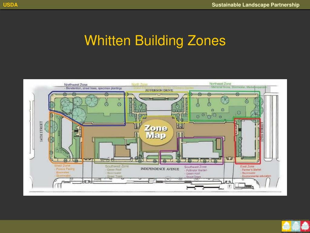 Whitten Building Zones