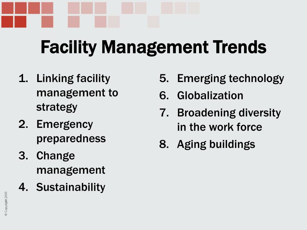 Linking facility management to strategy