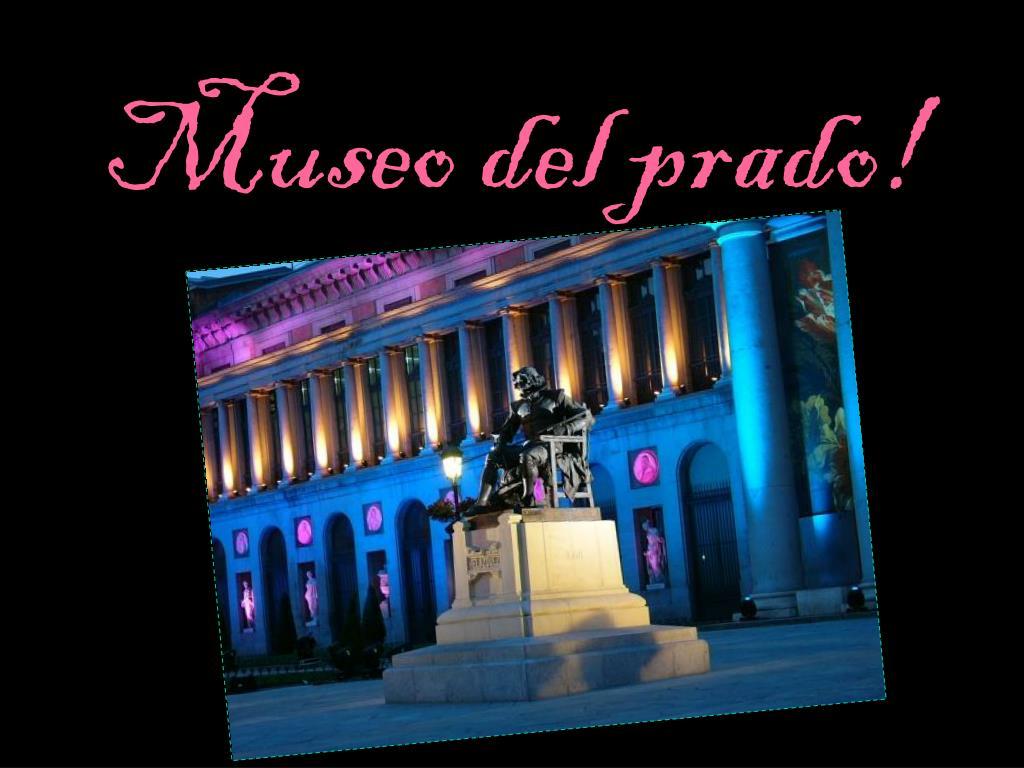 museo del prado l.