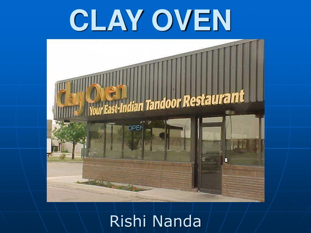 clay oven l.