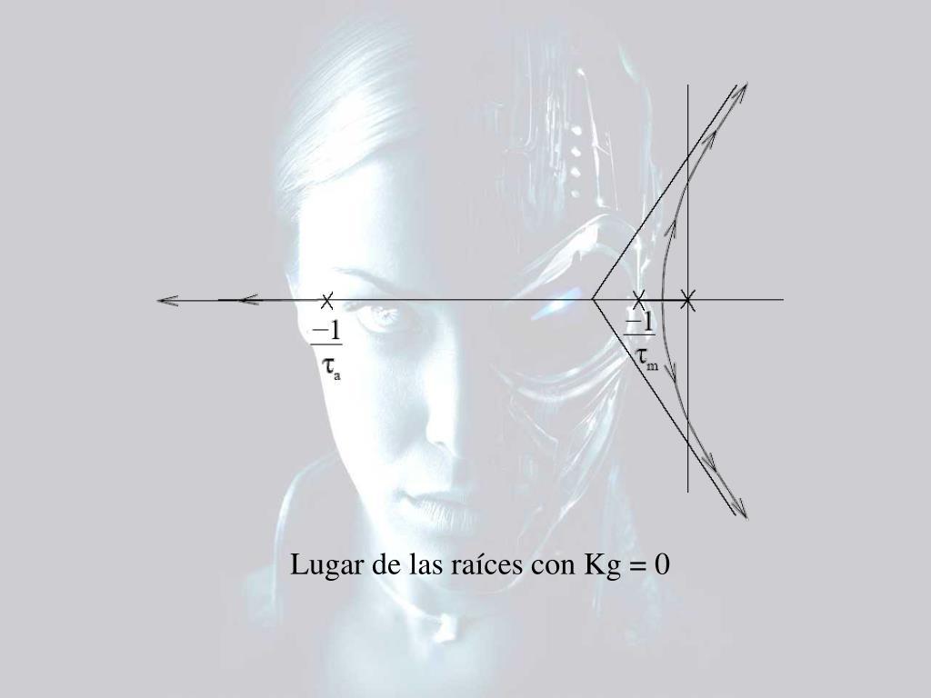 Lugar de las raíces con Kg = 0