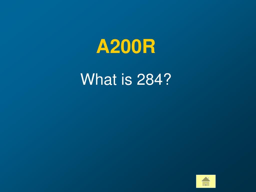 A200R