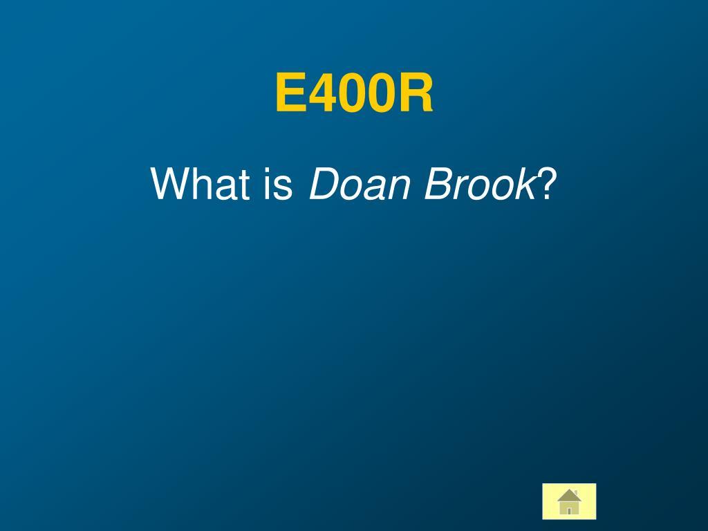 E400R