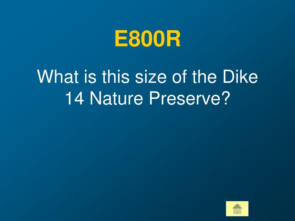 E800R