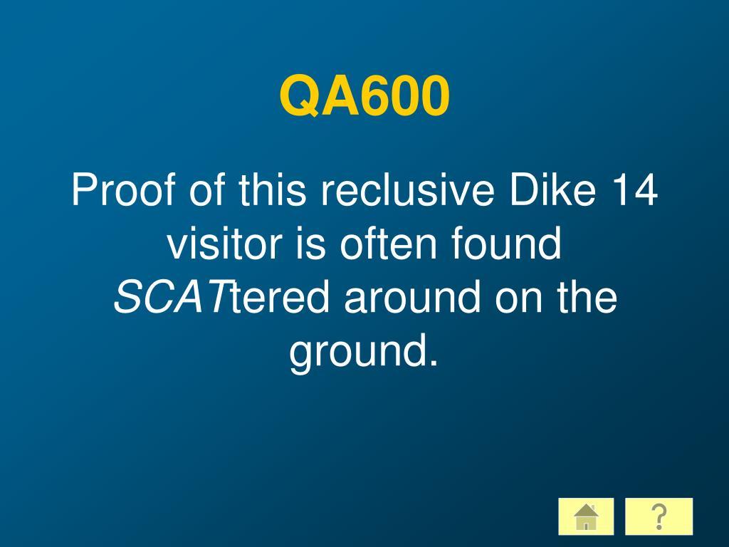 QA600