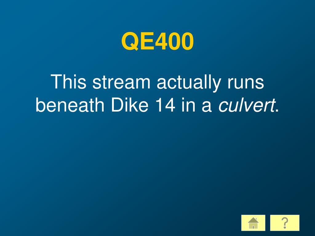 QE400