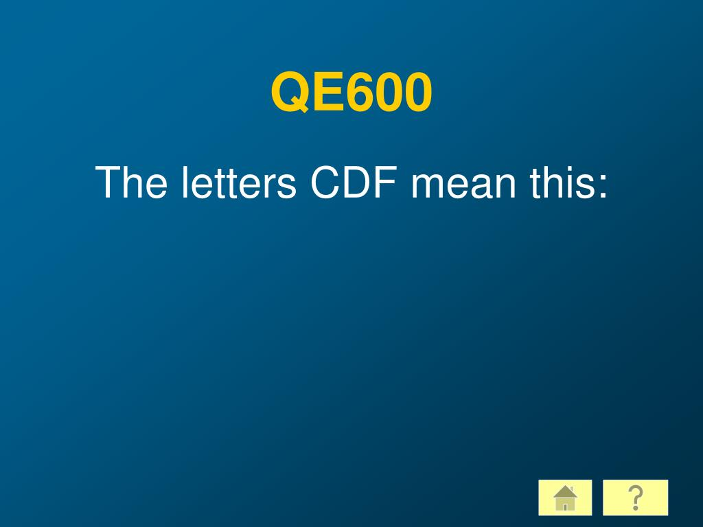 QE600