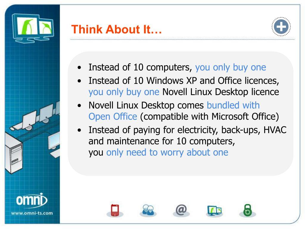 PPT - Desktop Multiplier™ for Novell© Linux Desktop – Migrate to