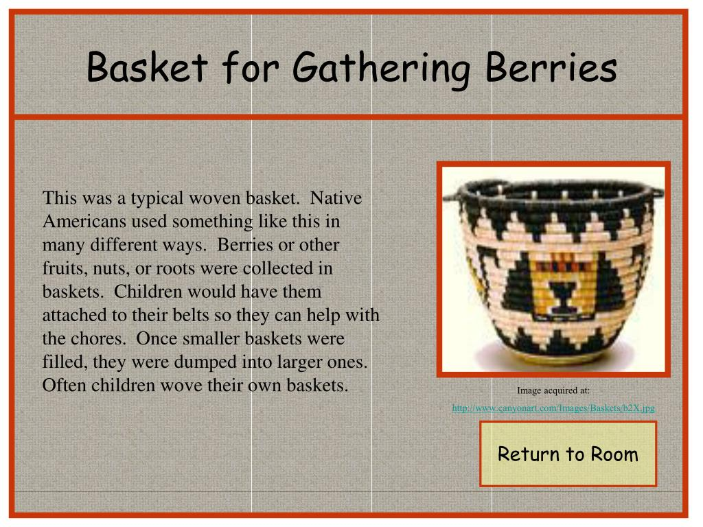 Basket for Gathering Berries