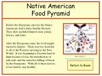 native american food pyramid
