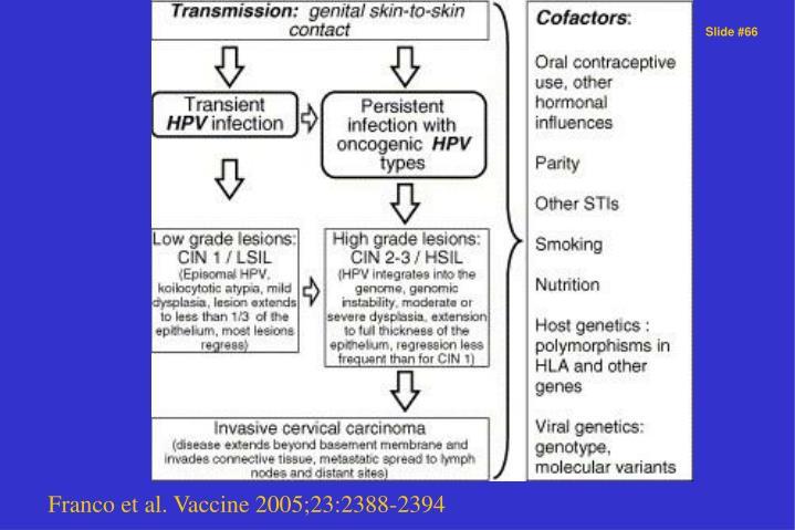 Franco et al. Vaccine 2005;23:2388-2394