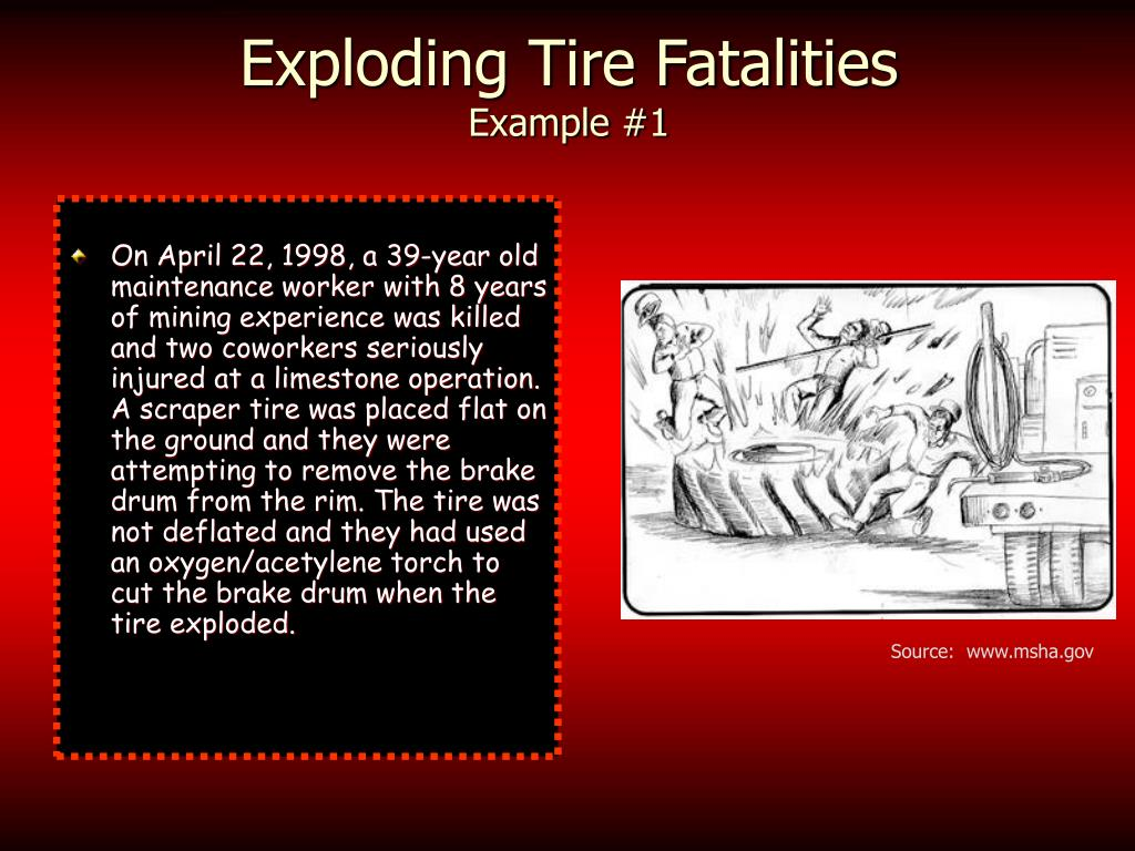 Exploding Tire Fatalities