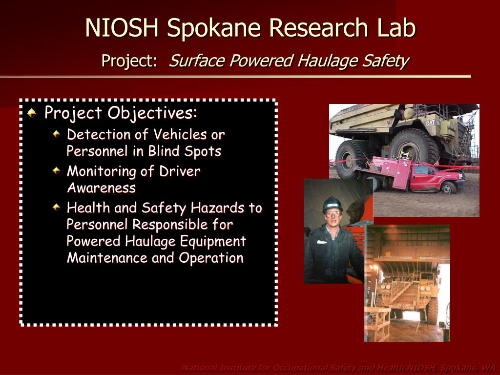 NIOSH Spokane Research Lab