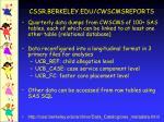 cssr berkeley edu cwscmsreports