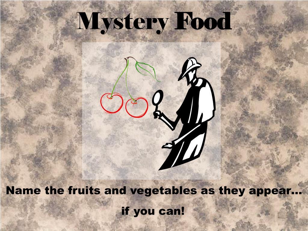 mystery food l.
