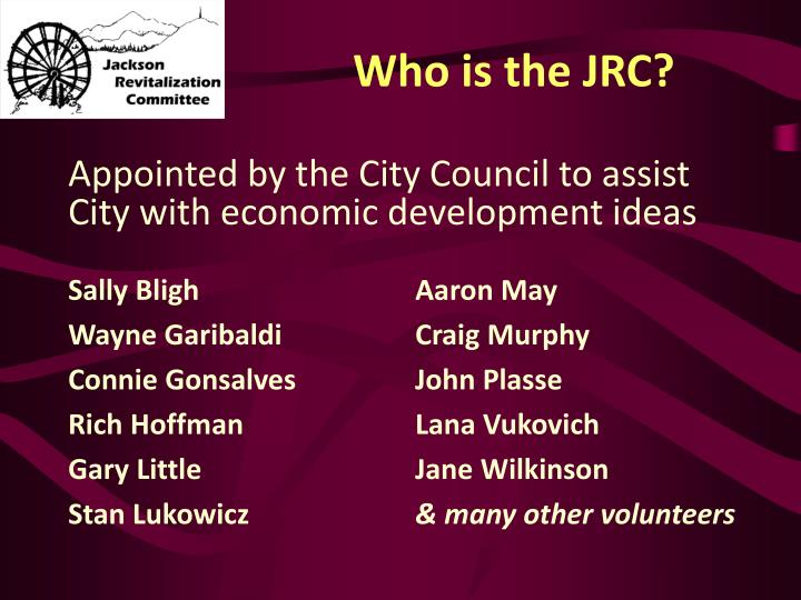 Who is the jrc
