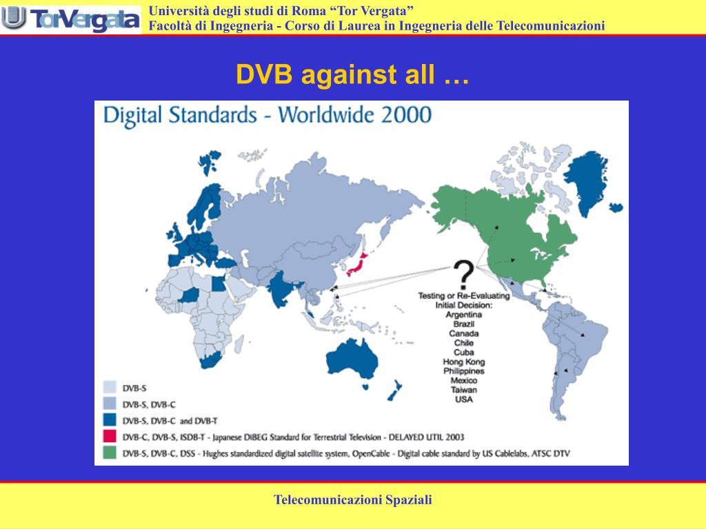 DVB against all …