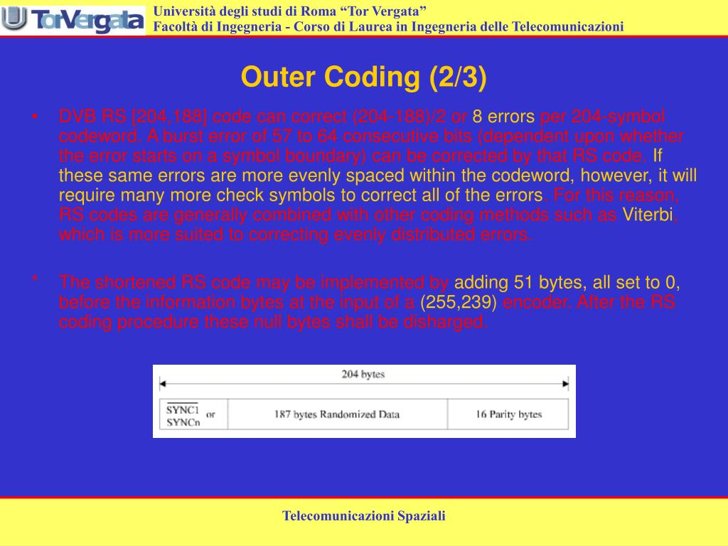 Outer Coding (2/3)