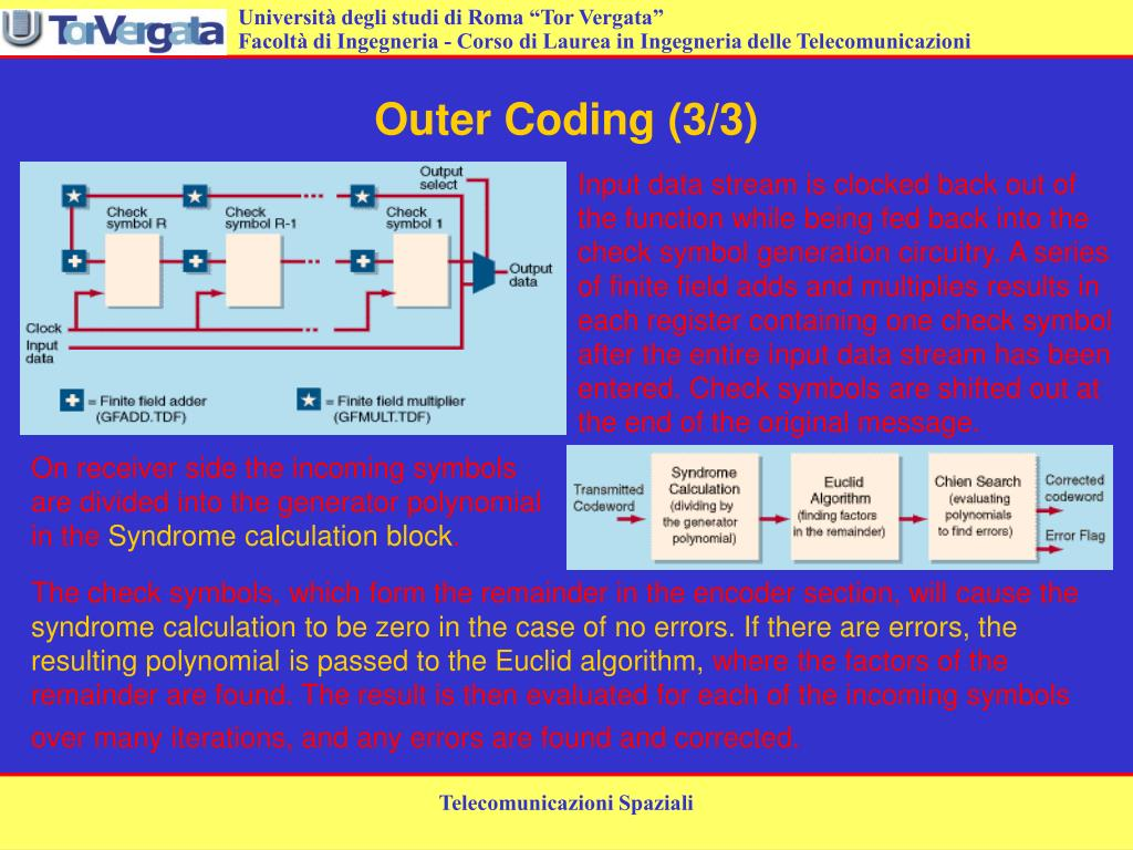 Outer Coding (3/3)