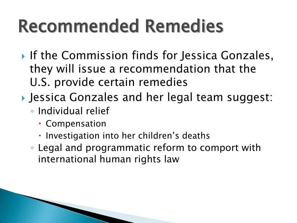 Recommended Remedies
