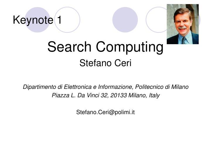 Keynote 1