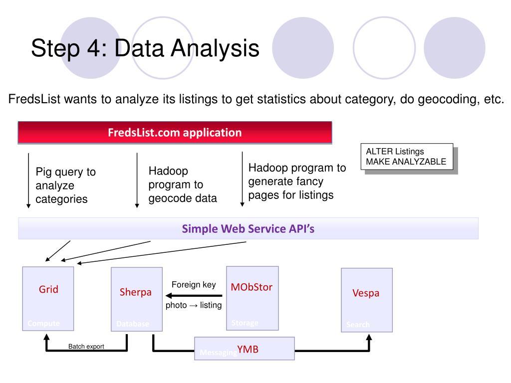 Step 4: Data Analysis