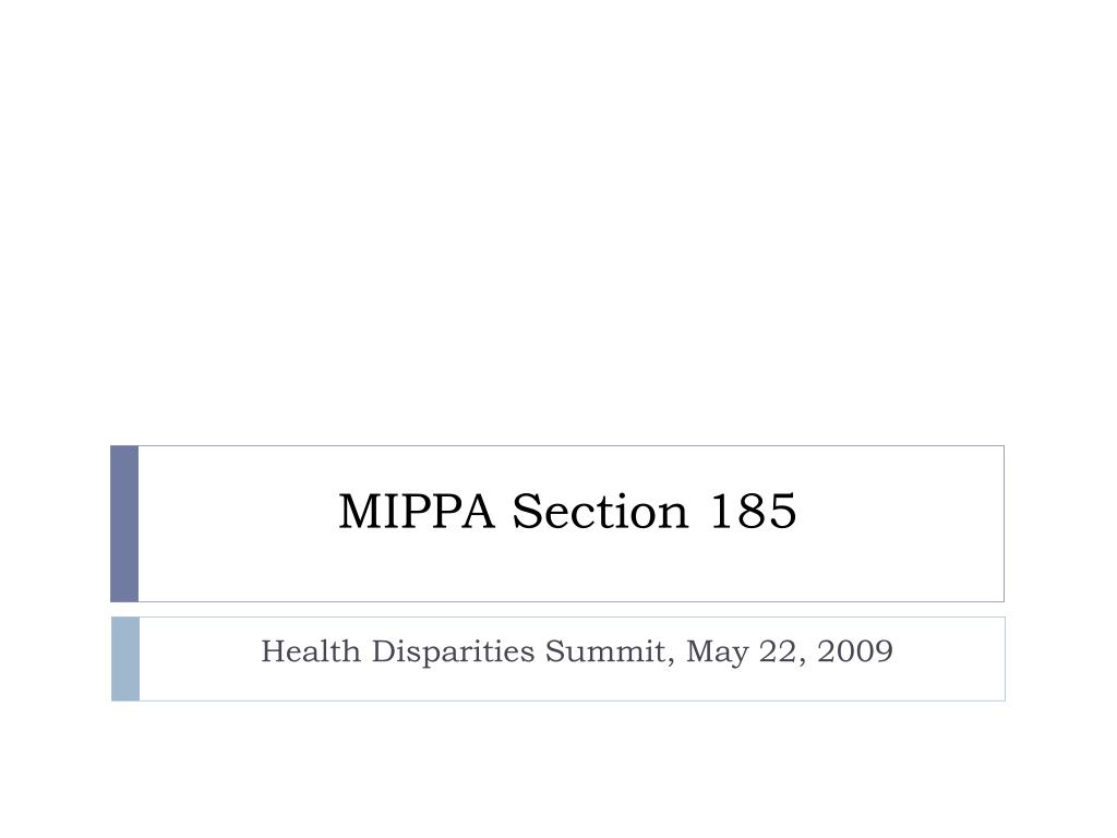 mippa section 185