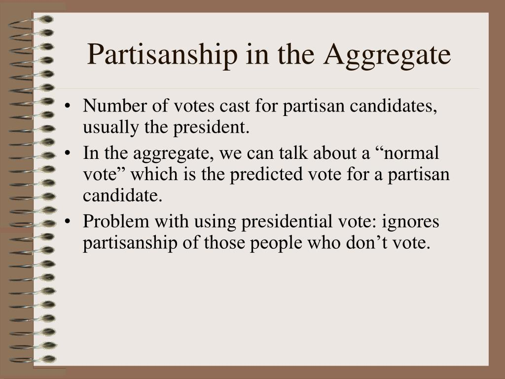 Partisanship in the Aggregate