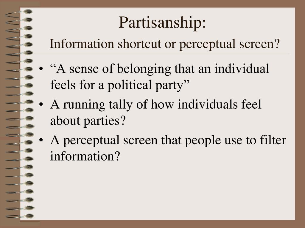 Partisanship: