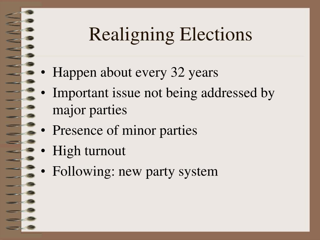Realigning Elections