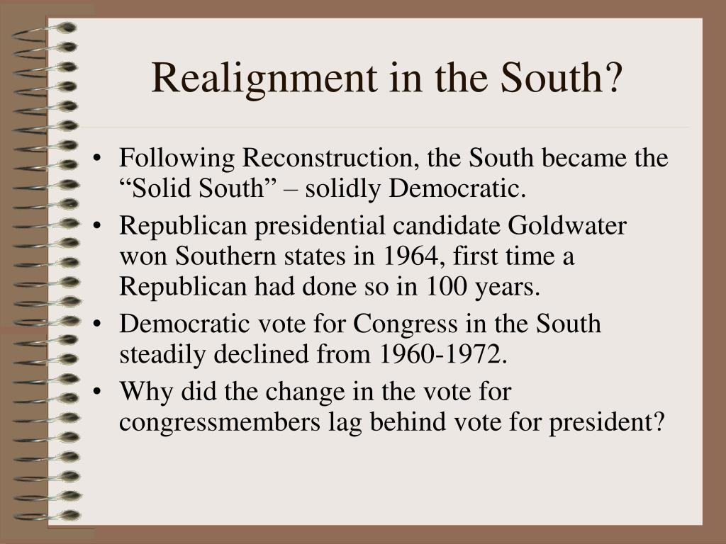 Realignment in the South?