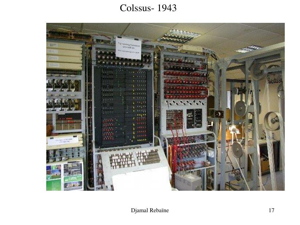Colssus- 1943