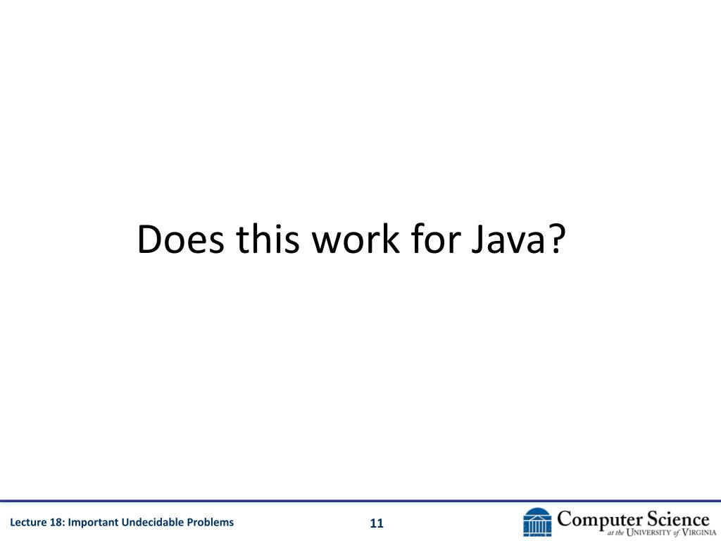 Does this work for Java?