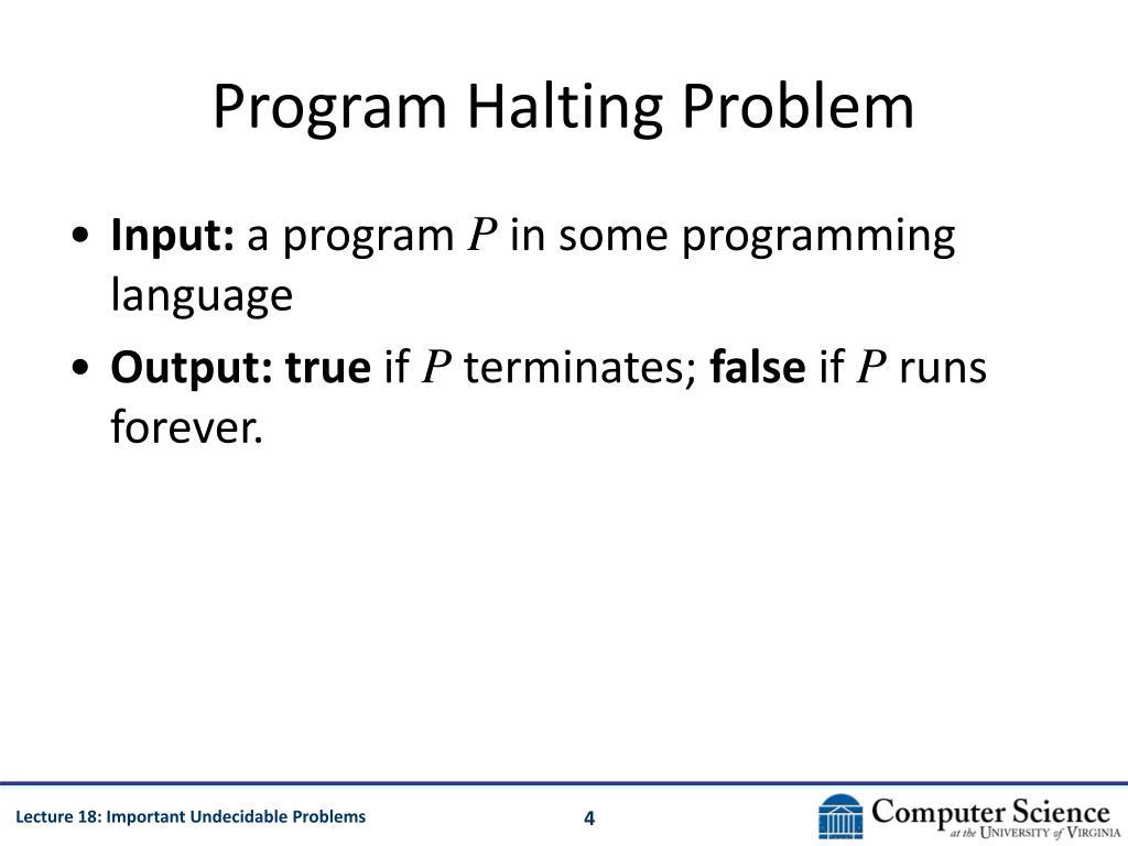 Program Halting Problem