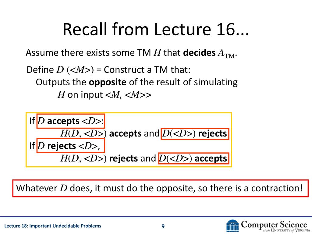 Recall from Lecture 16...