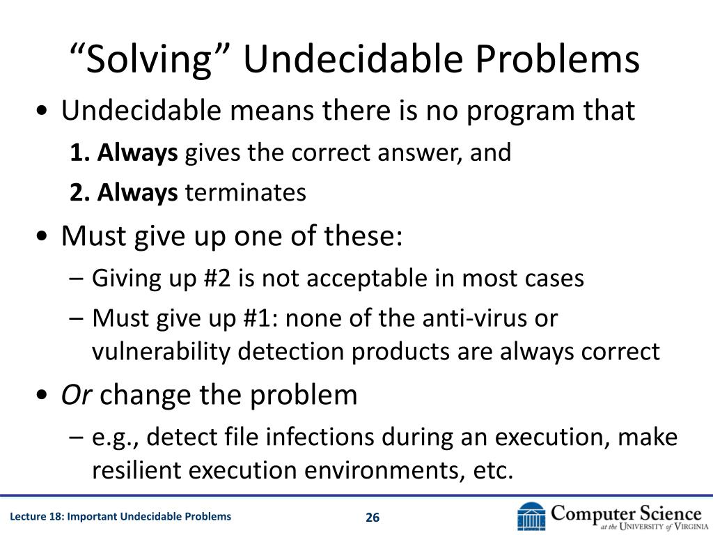 """""""Solving"""" Undecidable Problems"""