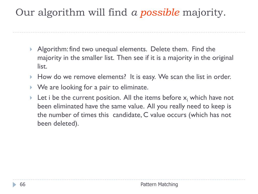 Our algorithm will find