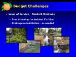 budget challenges26