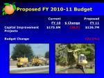 proposed fy 2010 11 budget10