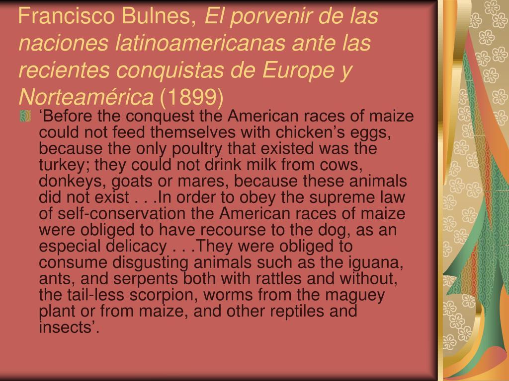 Francisco Bulnes,